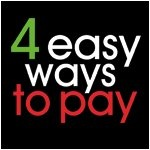 4 Easy Ways To Pay